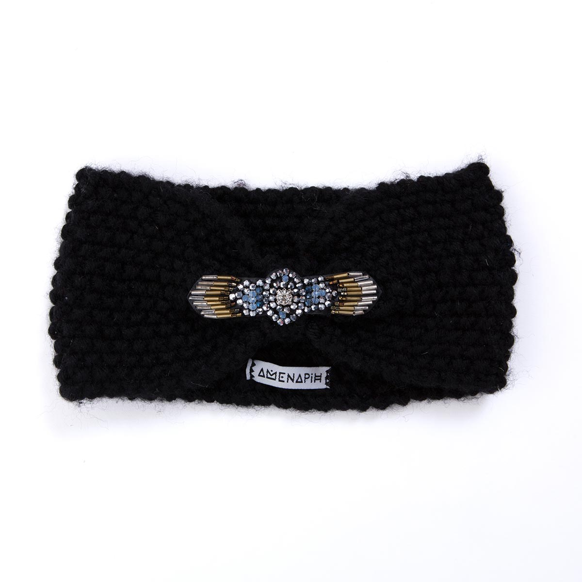 headband foxy noir amenapih by hipanema accessoires chapeaux de plage headband www. Black Bedroom Furniture Sets. Home Design Ideas