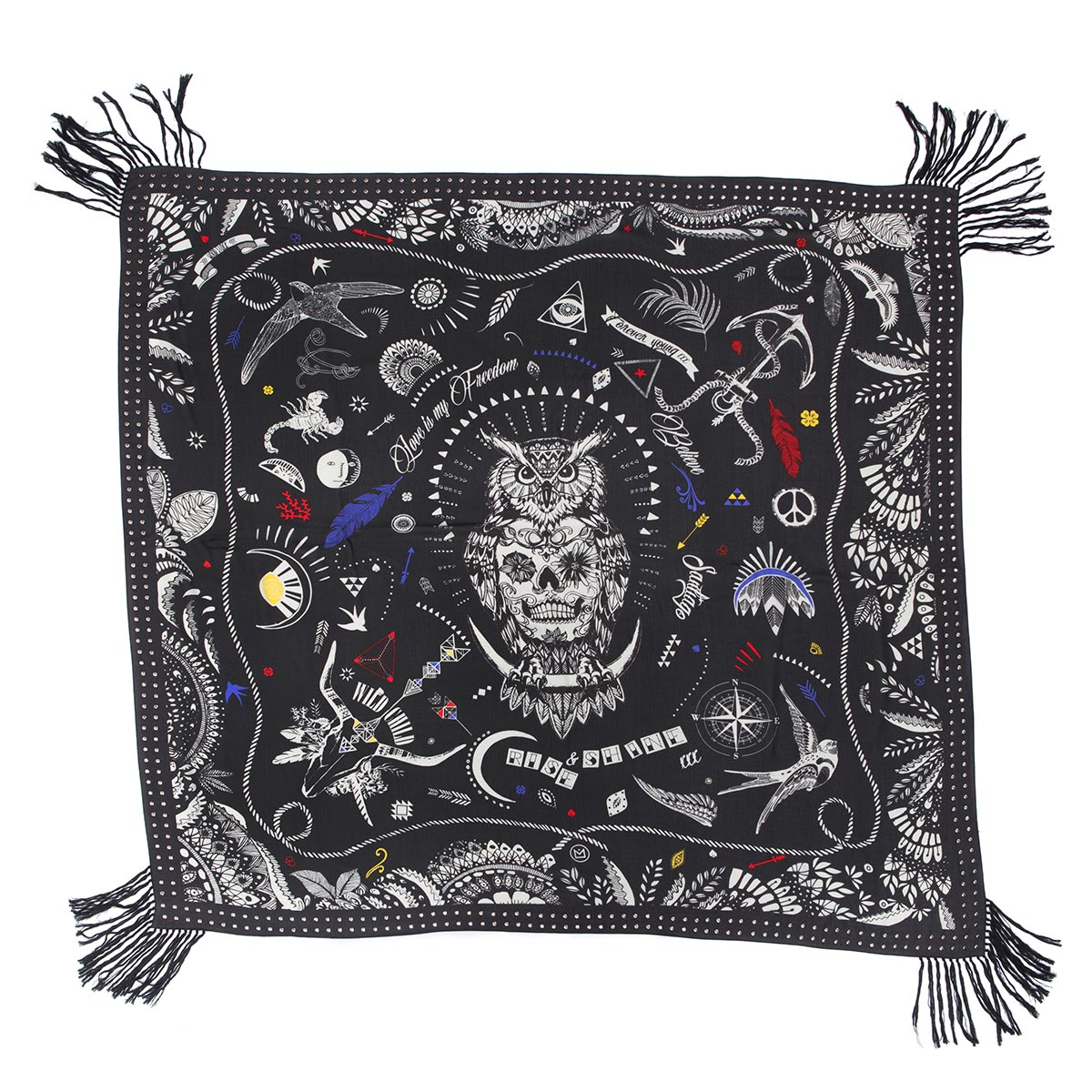 foulard biker amenapih by hipanema bijoux et accessoires. Black Bedroom Furniture Sets. Home Design Ideas