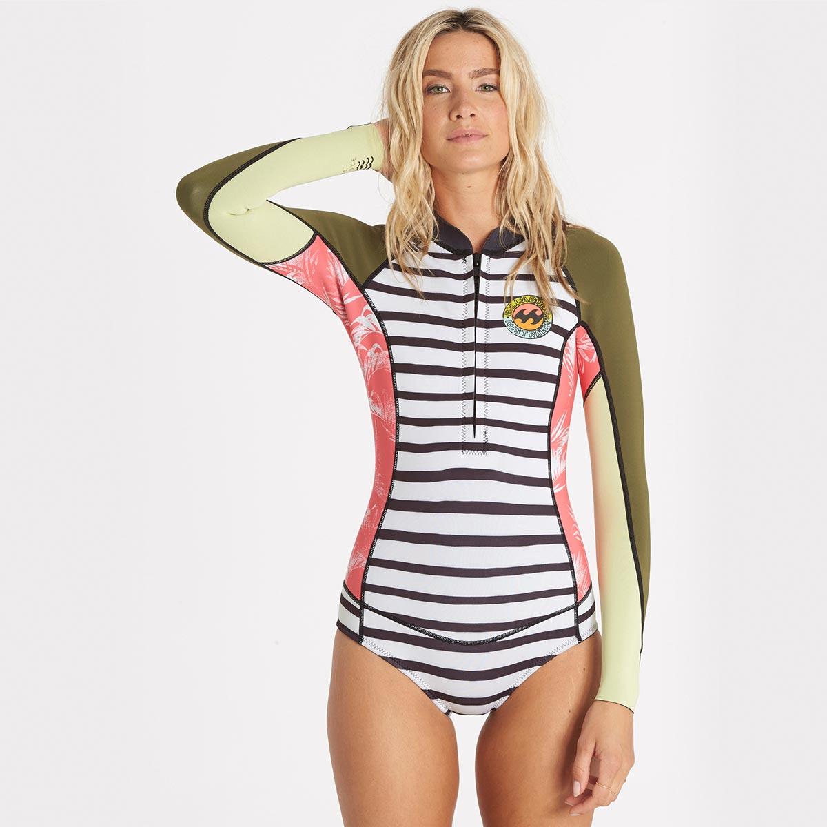 e5d951650ef Combinaison de surf manches longues Femme - Billabong été 2017