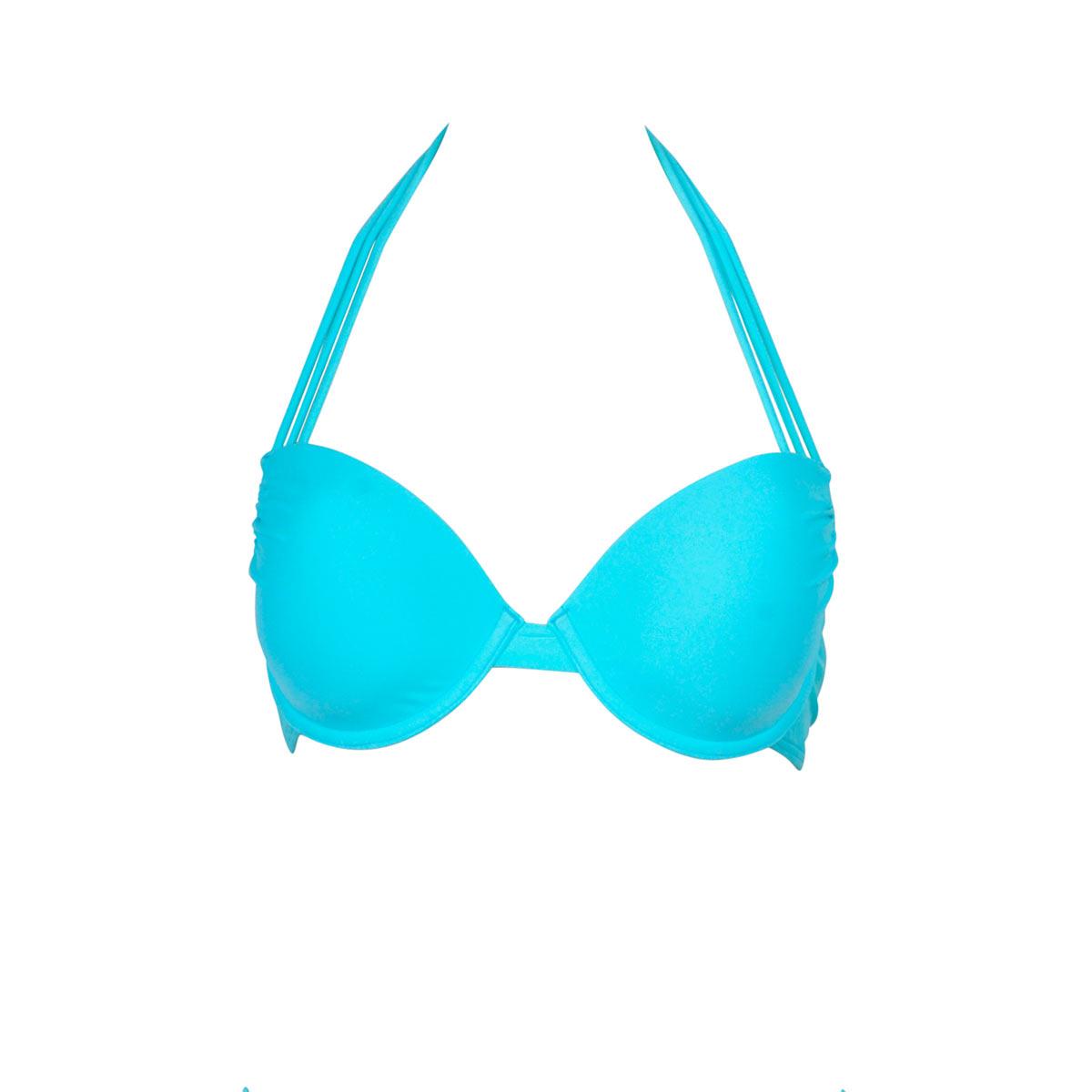 Mon Secret Push-up bleu néon (Haut)