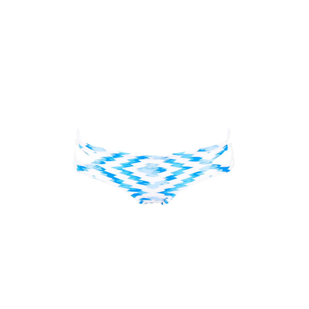 Maillot de bain tanga bleu réversible Florence (Bas)