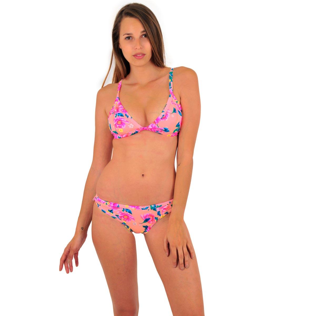 Comptoir Evreux Néoprène Pêchehaut Electricite Triangle Elbeuvien Bikini Fleur Rose Mon CBoerdx