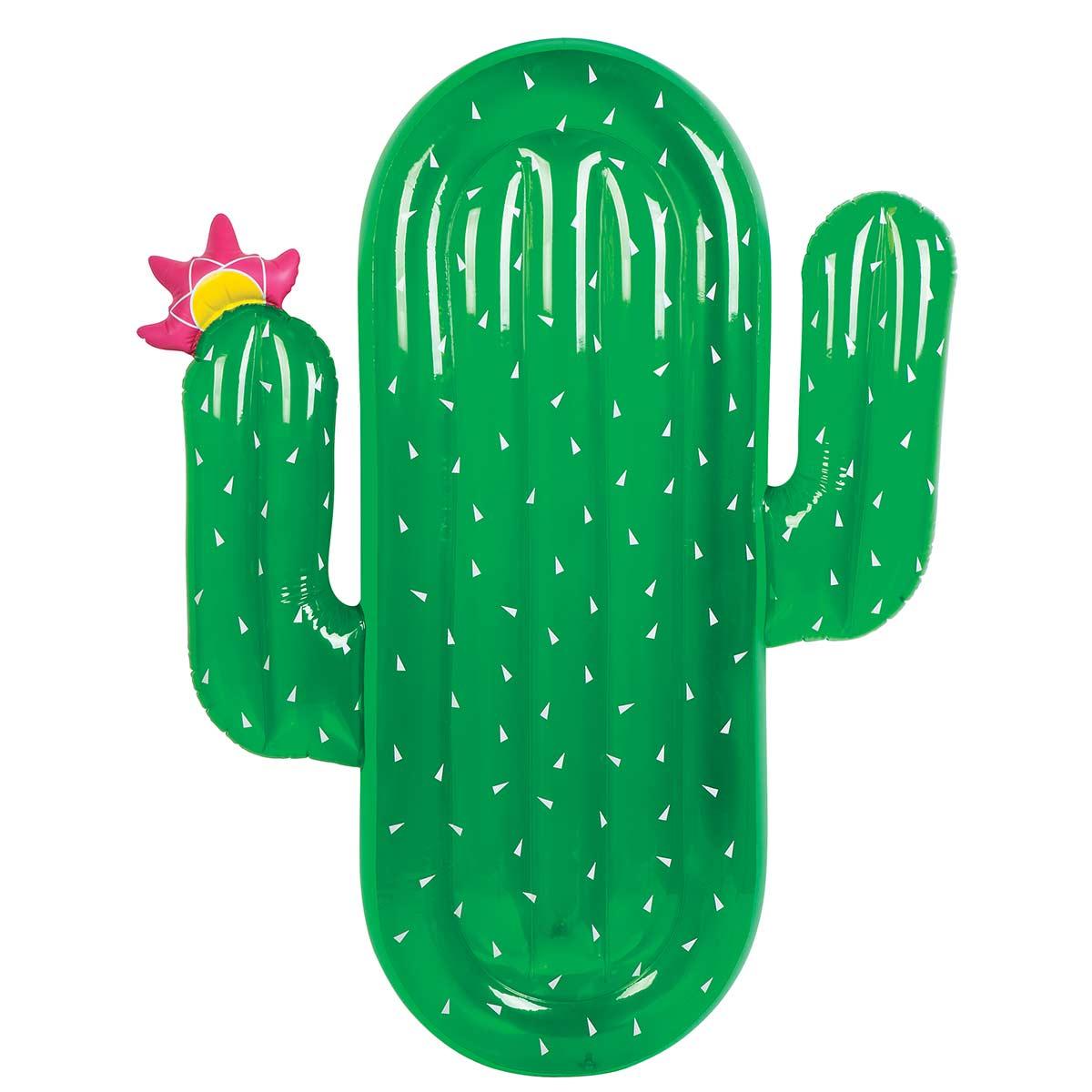 Bouée gonflable vert Cactus