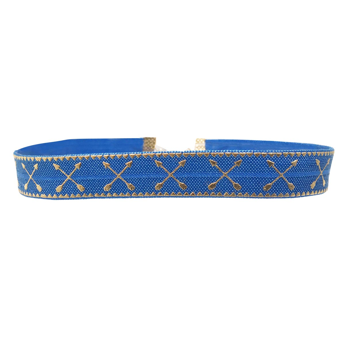 Collier choker bleu jean Palm Springs