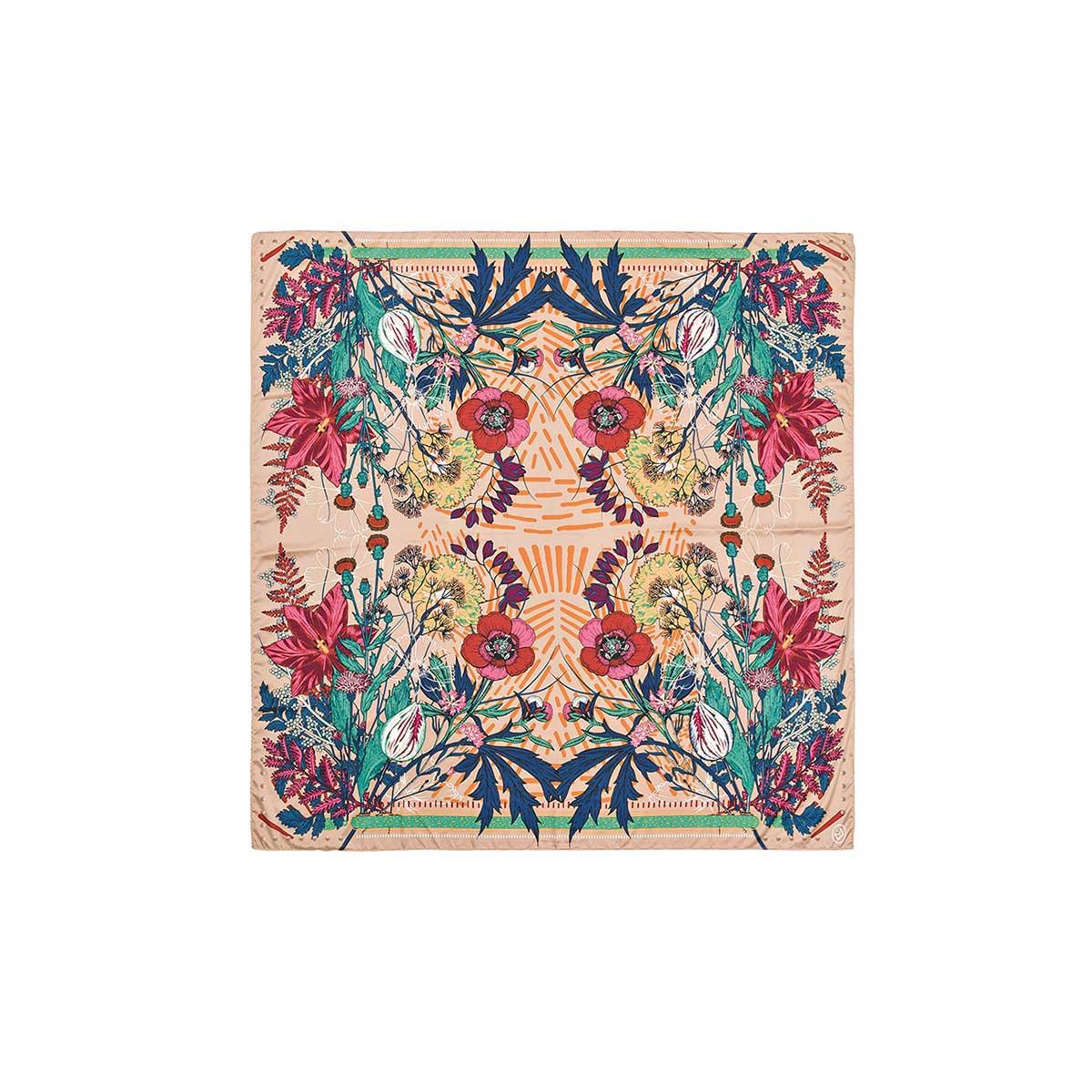 carr femme foulard soie foulard amenapih foulard camel mini. Black Bedroom Furniture Sets. Home Design Ideas