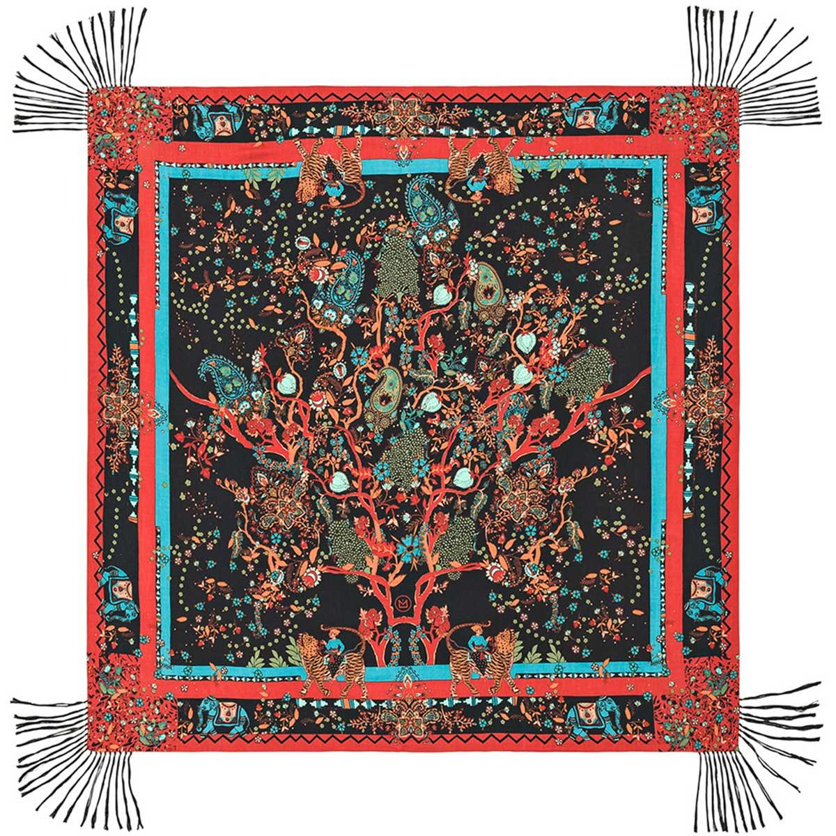 foulard femme foulard soie foulard amenapih foulard rouge. Black Bedroom Furniture Sets. Home Design Ideas