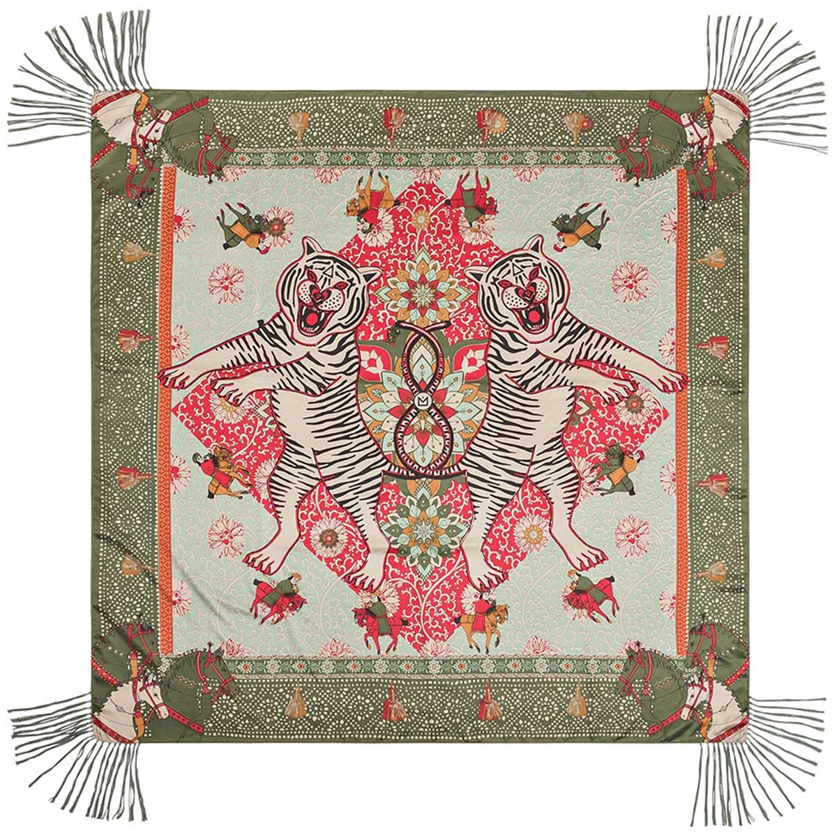 collection amenapih hiver 2018 grand foulard kaki boh me gypsy. Black Bedroom Furniture Sets. Home Design Ideas