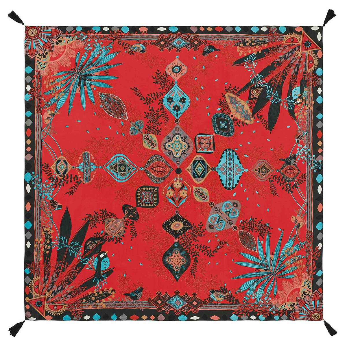 Foulard rouge Persian