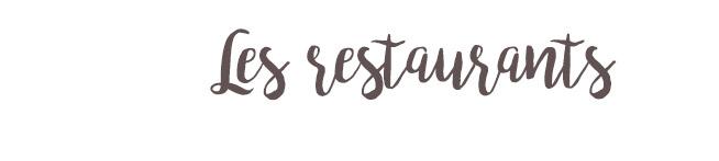 les-restaurants
