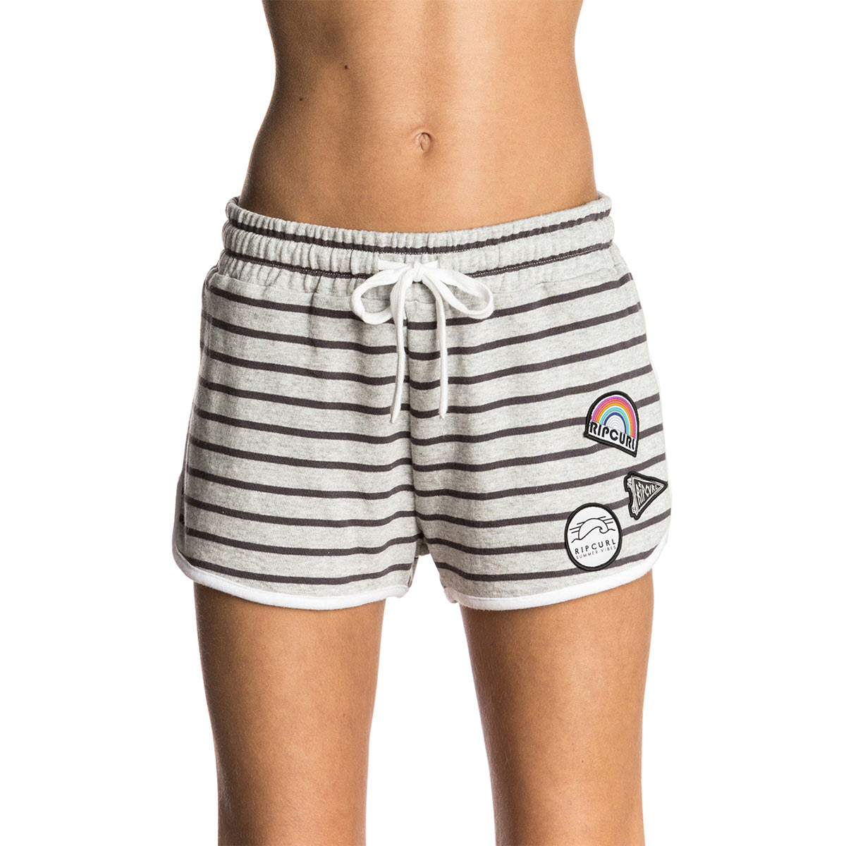 Short de plage gris en coton Scenic Short