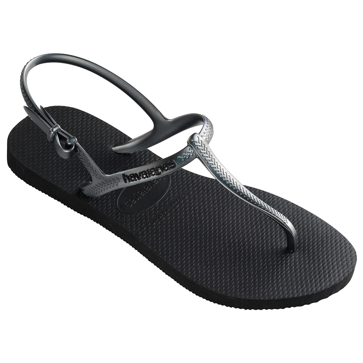 Sandales de plage noires Freedom SL