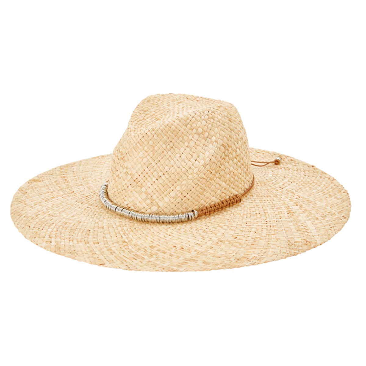Chapeau de plage avec bijou Shady Lady