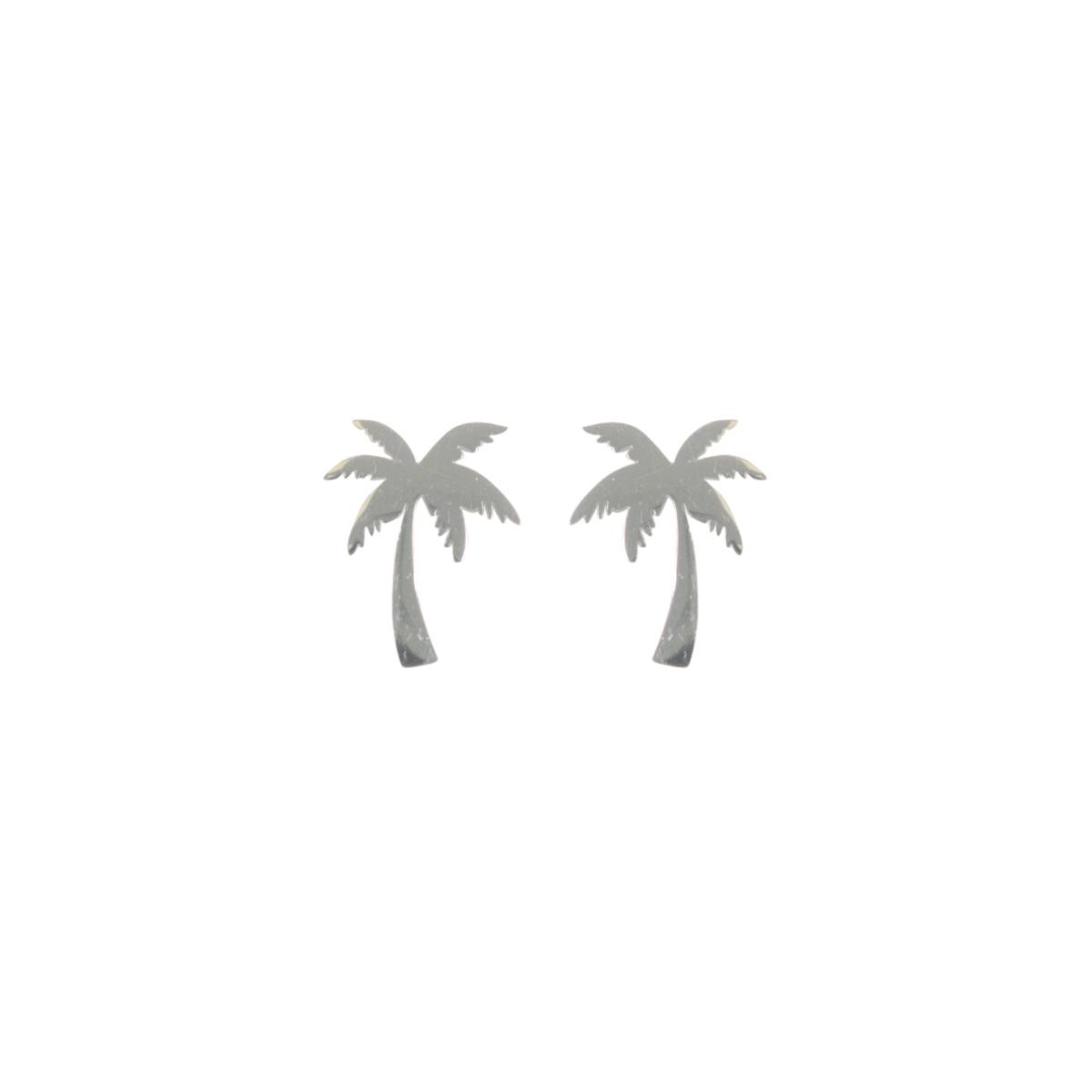boucles d 39 oreilles argent palmier cadeaux de noel petits prix. Black Bedroom Furniture Sets. Home Design Ideas