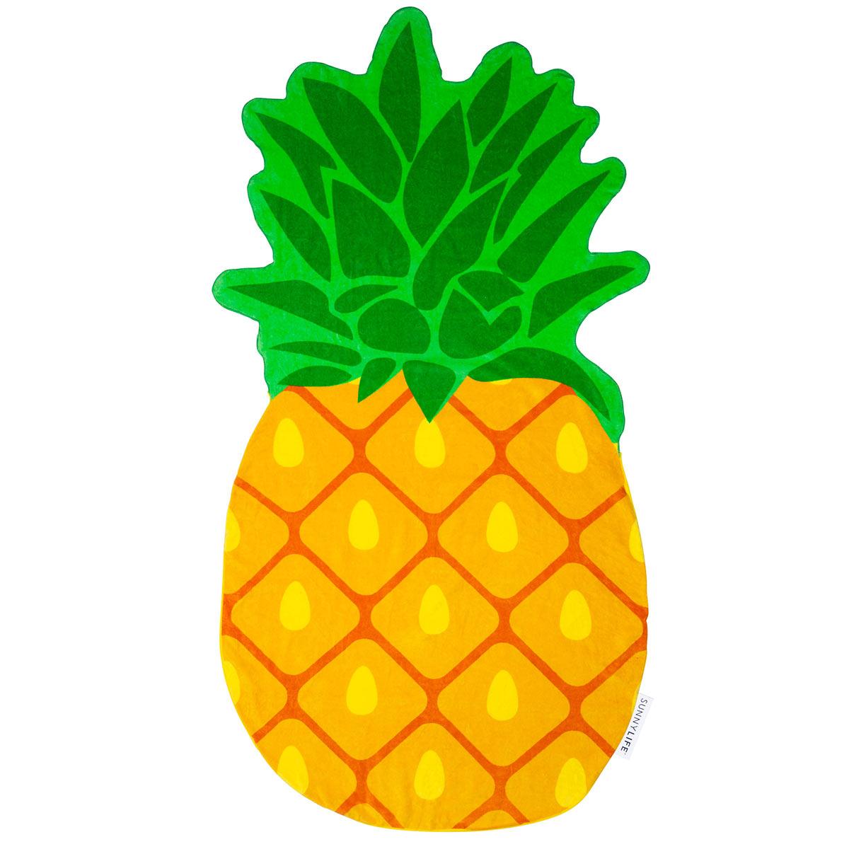 mini bou e porte boissons jaune ananas accessoires chill. Black Bedroom Furniture Sets. Home Design Ideas