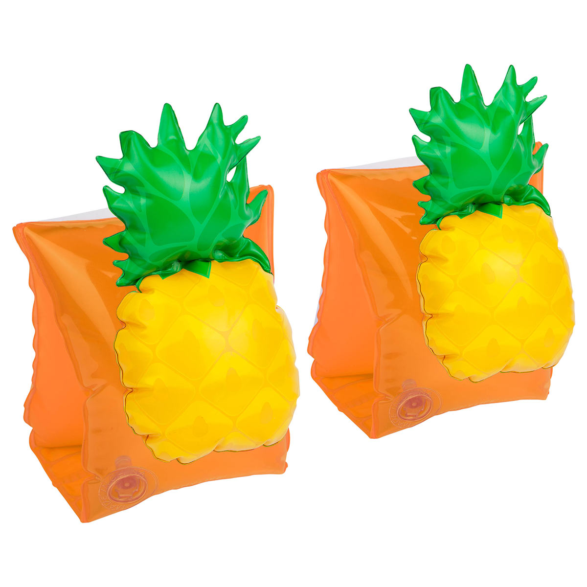 Brassard jaune motif Ananas