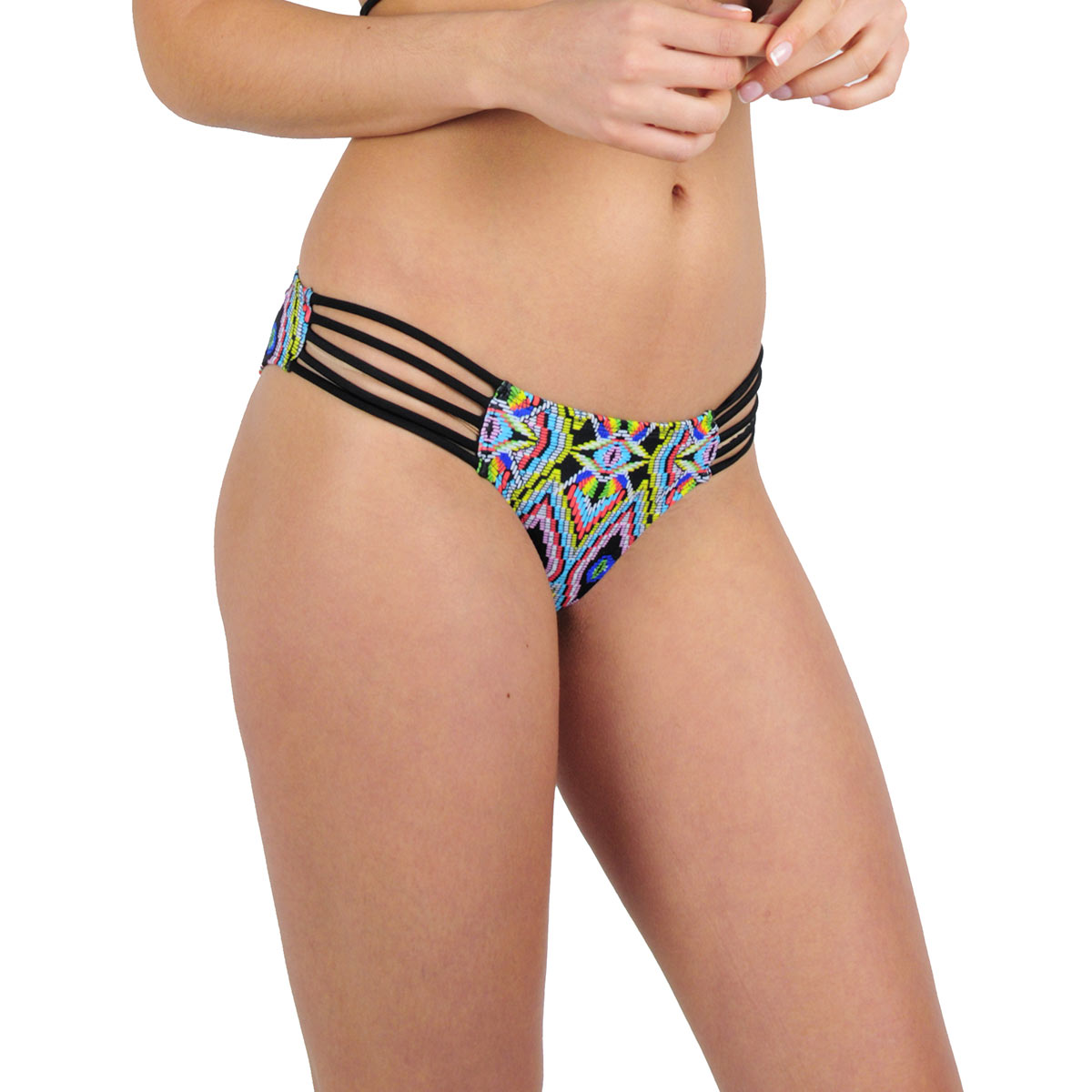Ma culotte Itsy Bikini multicolore Tribal (Bas)