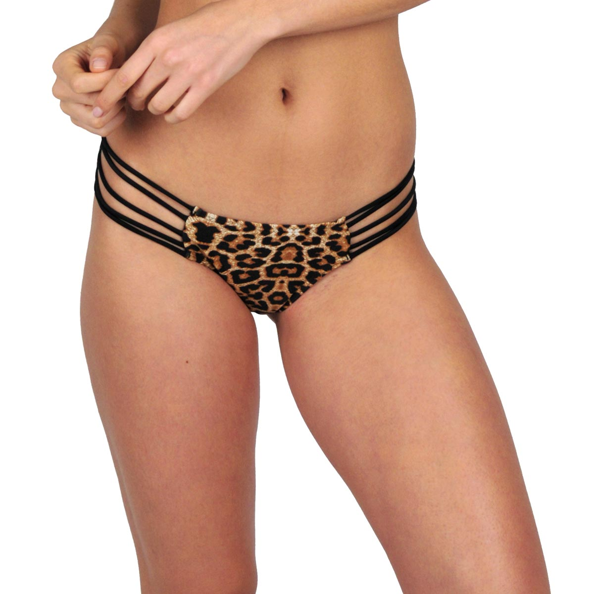 Ma culotte Itsy Bikini  léopard et noir (Bas)