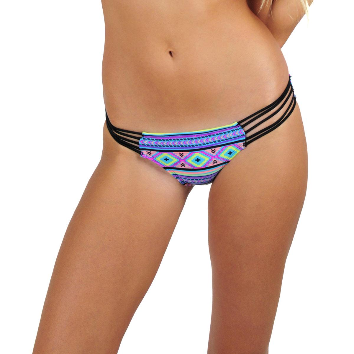 Mon Mini Itsy Bikini tanga ethnique multicolore (Bas)