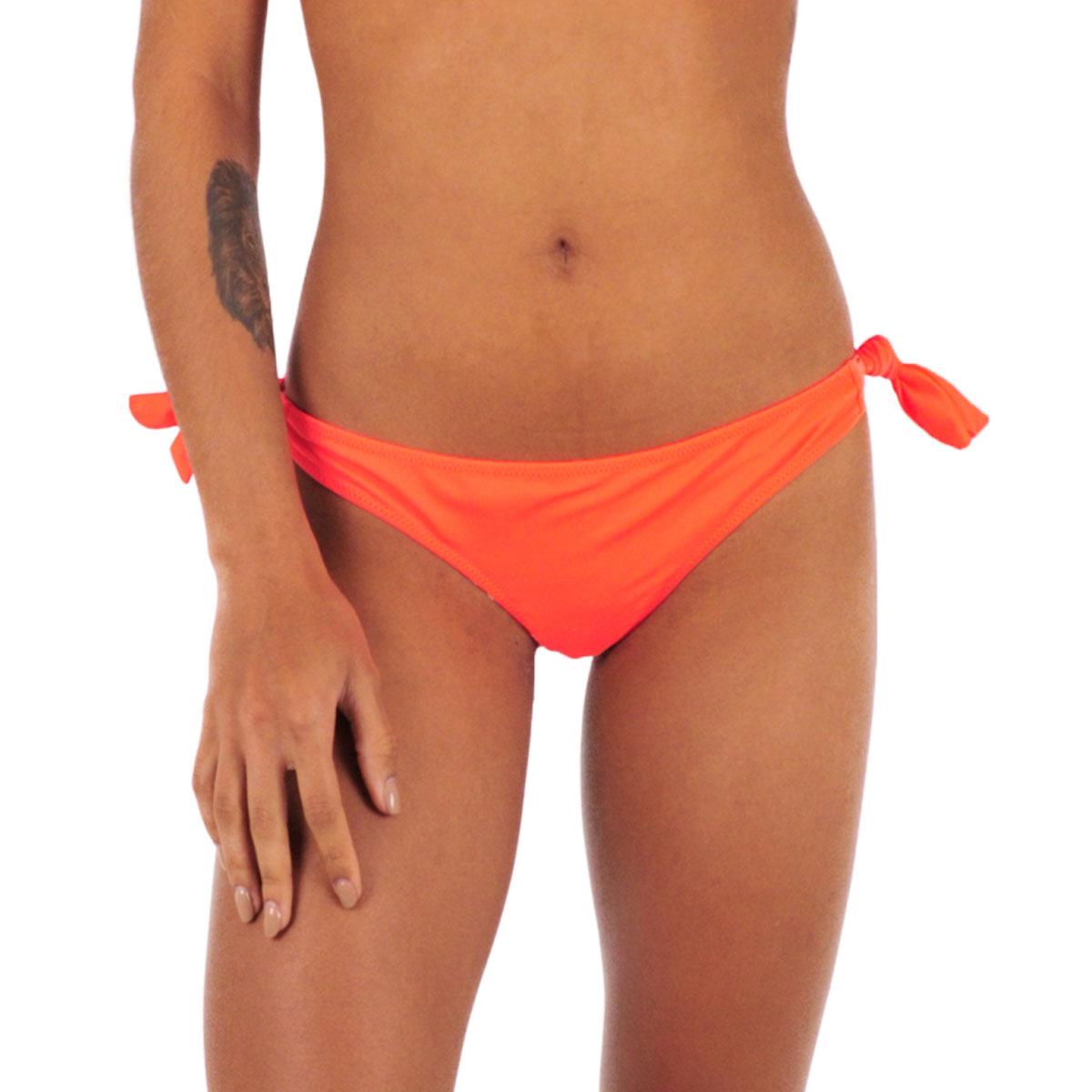 Maillot de bain tanga orange fluo Color Mix