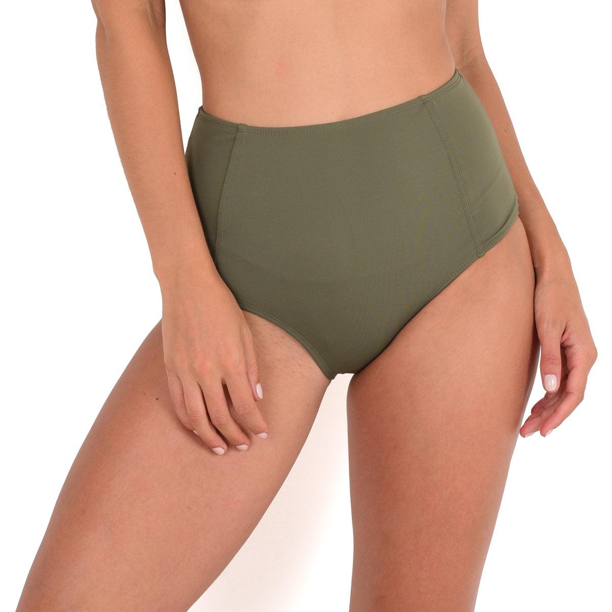 Ma Culotte Taille Haute vert kaki (Bas)