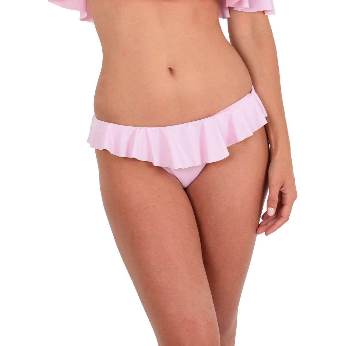 Ma Culotte à Volant rose pastel (Bas)