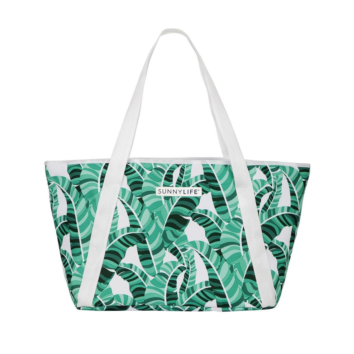 Sac hermétique vert motif Palmiers
