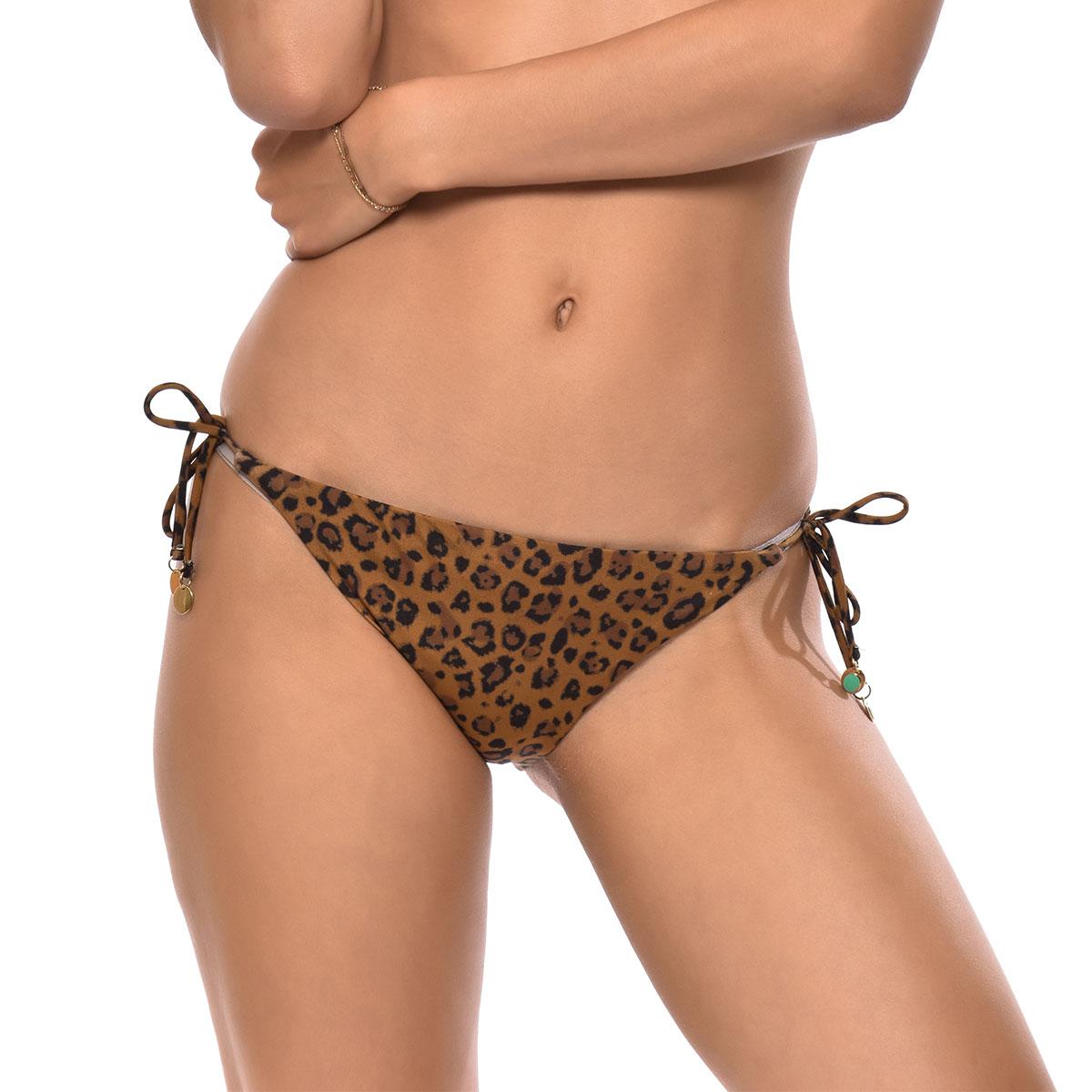 Bas de maillot de bain Culotte Léopard Serengeti COUTURE
