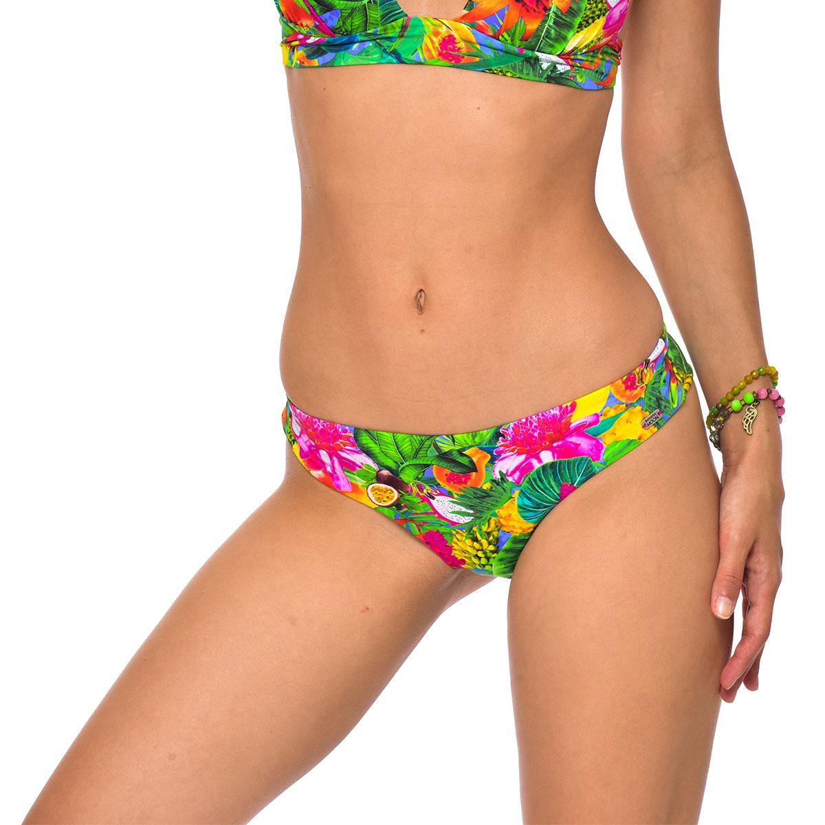 Bas de maillot de bain Tanga Multicolore Tropicool