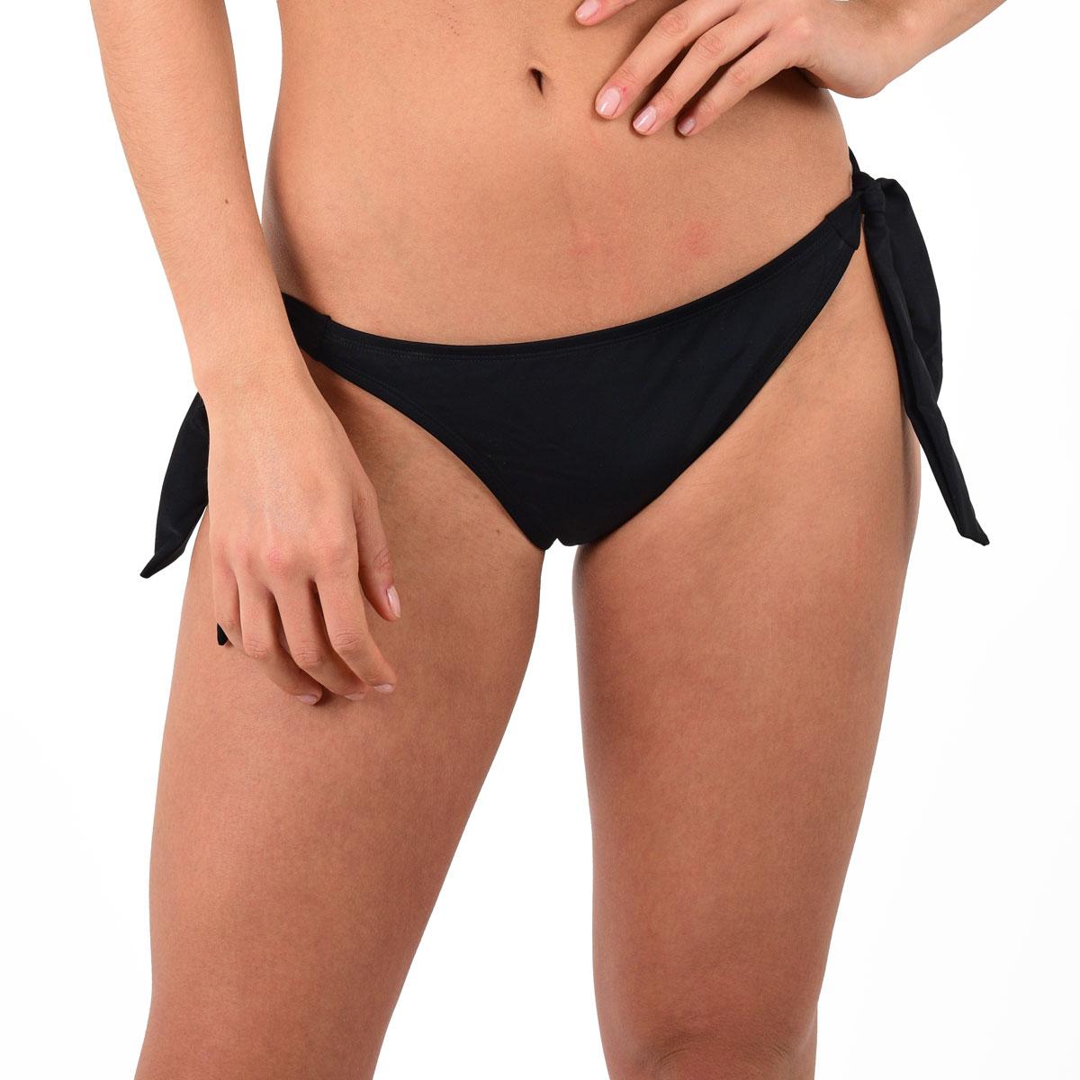 Mon Weenie Bikini culotte noire à noeuds (Bas)