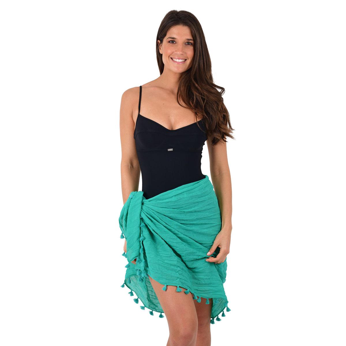 Paréo vert sarong WaterGarden