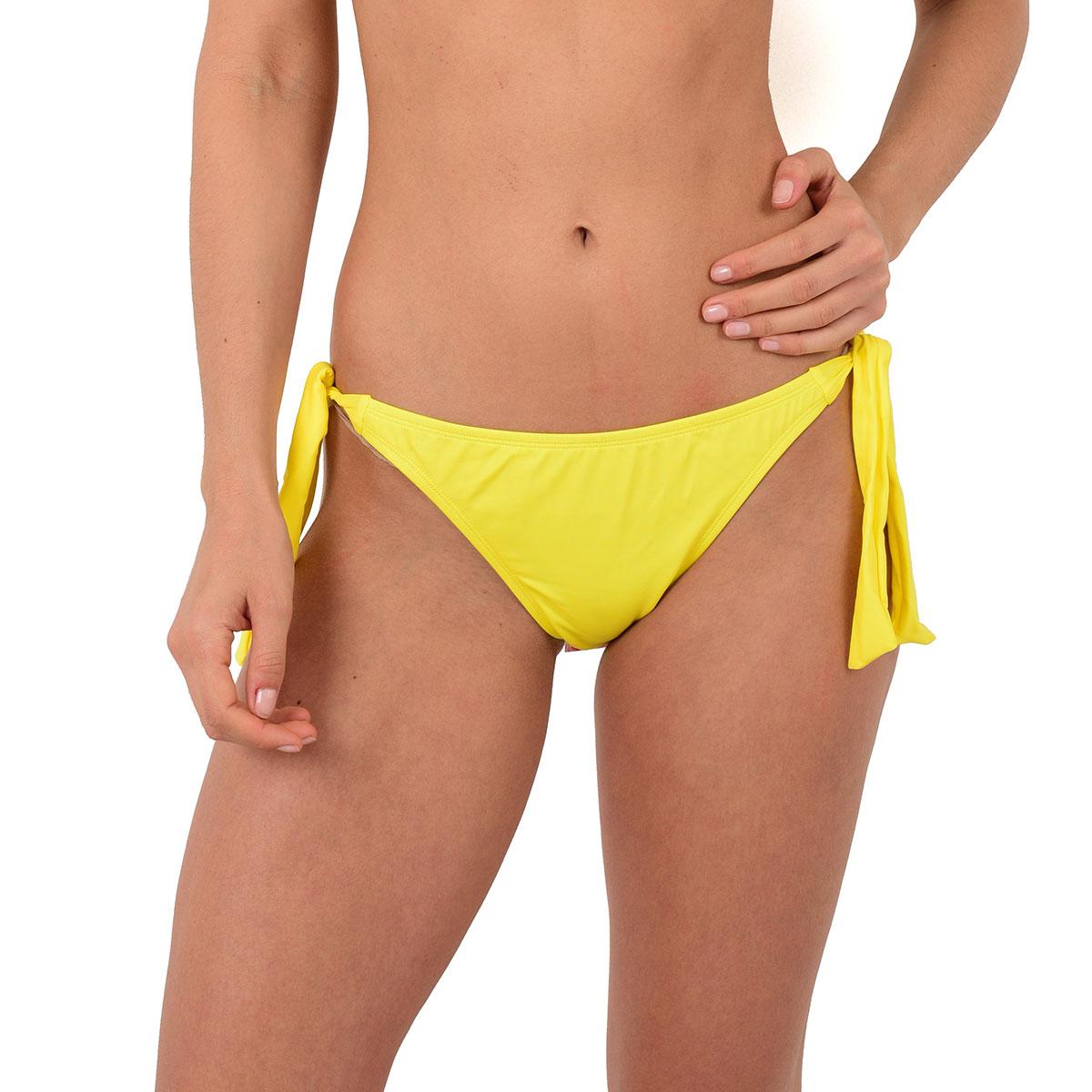 Mon Weenie Bikini culotte jaune à noeuds (Bas)