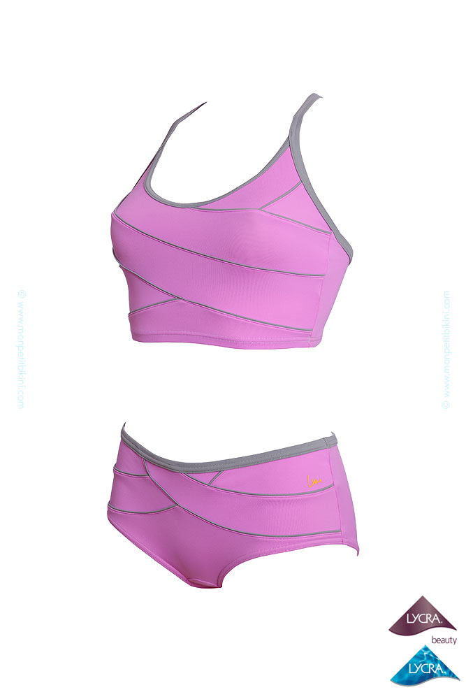 Maillot de piscine gainant laure manaudou 2 pi ces for Maillot deux pieces piscine