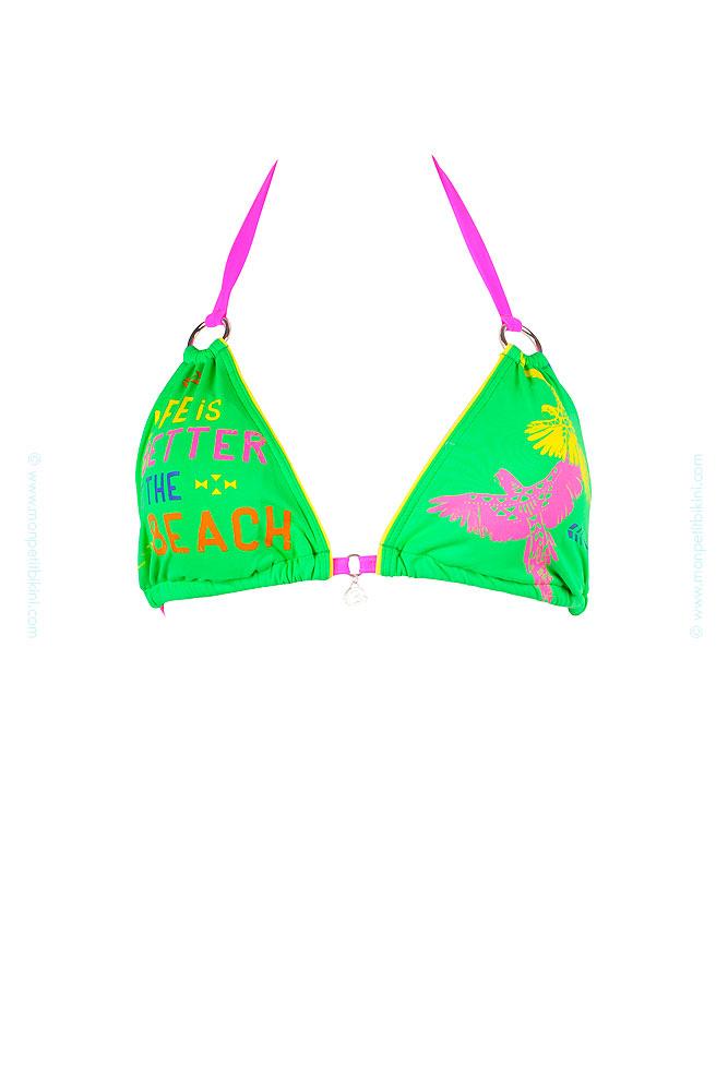 bikini vert banana moon 2014 maillot de bain femme. Black Bedroom Furniture Sets. Home Design Ideas