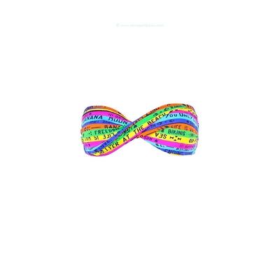 Banana Moon - Haut de maillot de bain bandeau multicolore fluo Boro Alegria