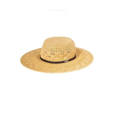 Chapeau de plage beige naturel Kittles Hatsy