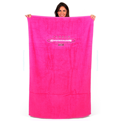 Serviette de plage Rose Malabar Plain Towely