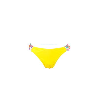 Bas de maillot de bain jaune