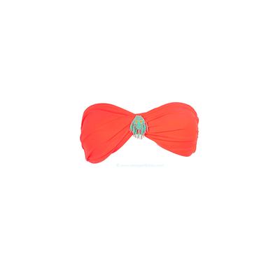 Amenapih by Hipanema - Haut de maillot de bain bandeau orange corail