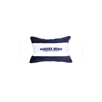 Coussin de plage rayé bleu marine Blonski