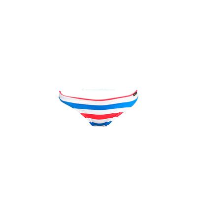 Culotte classique Rayée blanche et fluo Gum (Bas)