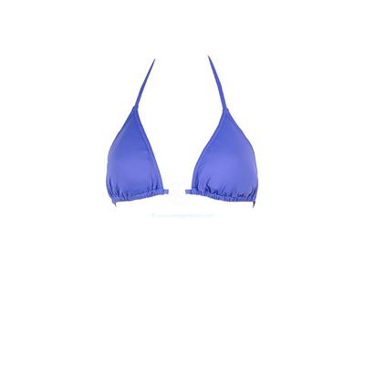Haut de maillot triangle avec mousse amovible gris bleu Peace