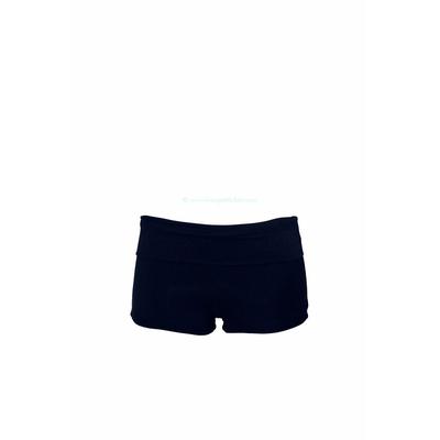 Bas short bleu marine indigo