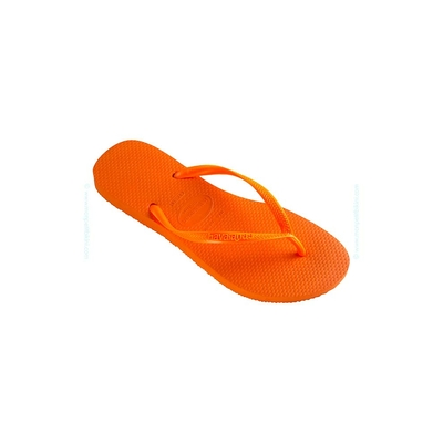 Tongs Slim orange fluo - Havaianas