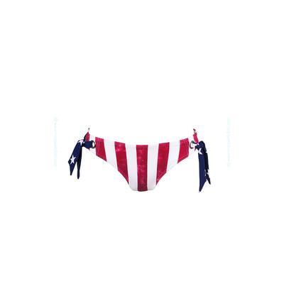 Culotte caro à oeillets USA bleu marine - Bas de maillot de bain Kiwi
