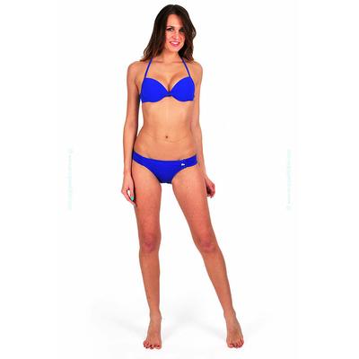 Maillot de bain deux pièces push-up bleu Playa Link Unicool