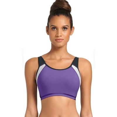 Haut de maillot grand bonnet spécial sport violet Active Swim