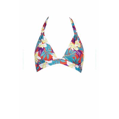 Maillot de bain triangle Dolce Vita imprimé floral multicolore (Haut)