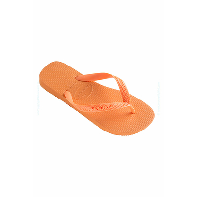 Tongs Top unisexe orange mandarine