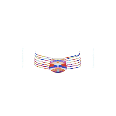 Maillot de bain multicolore à liens Prismatic (Bas)
