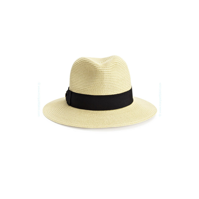 Chapeau beige naturel Rumor